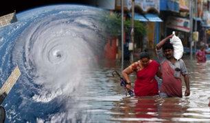 """Ciclón """"Nivar"""" genera evacuaciones masivas en la India"""