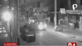 El Agustino: delincuentes roban camioneta a empleado de minera frente a su casa