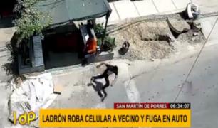 Delincuentes acechan a todas horas en San Martín de Porres