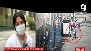 Feminicidio en Gamarra: Hermana de víctima teme que padres de feminicida les quite custodia de su sobrino