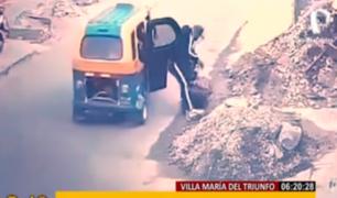 Salvaje: joven fue arrastrada por 'raqueteros' para robarle celular