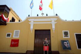 Huaura: Presidente Sagasti acudió a ceremonia por bicentenario de Expedición Libertadora