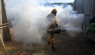 La Libertad: realizan masiva fumigación de viviendas  para evitar brote de dengue