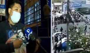 Un joven herido por una bomba lacrimógena tras enfrentamiento de hinchas de Alianza Lima