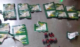 Chiclayo: intentan ingresar a penal sustancias prohibidas en tabletas de medicamentos