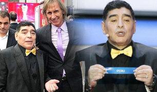 Gareca se pronunció tras la muerte de Maradona