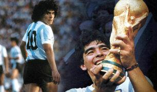 El último adiós al 10: vídeos inéditos de su paso por el fútbol de Maradona