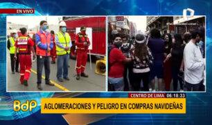 MML inicia Plan Navidad Segura Lima Centro en Mesa Redonda, Mercado Centra y más