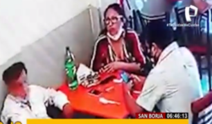 San Borja: delincuentes se hacen pasar por clientes para robar en chifa