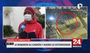 San Borja: hombre es extorsionado tras robo de su furgoneta