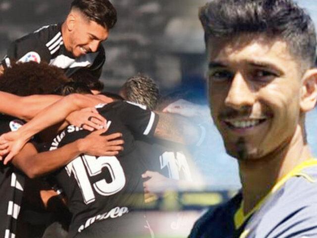 Jean Pierre Rhyner jugó en triunfo de Cartagena FC