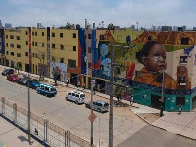 El nuevo rostro de El Porvenir: pintan 14 murales en complejos habitacionales