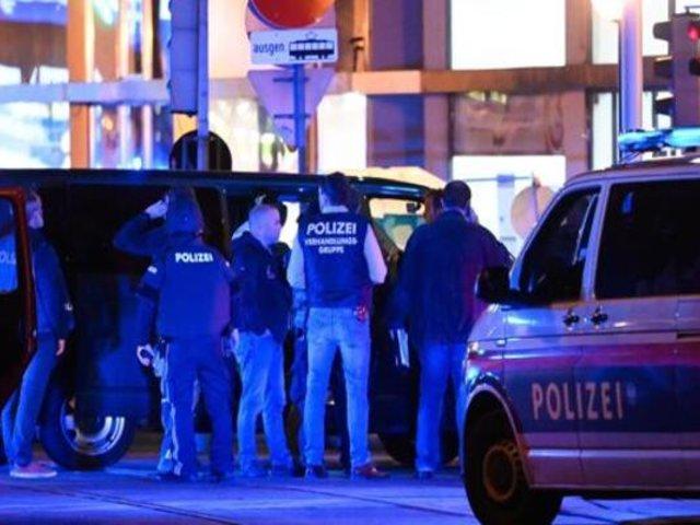 Austria: un fallecido y varios heridos dejó ataque en los alrededores de sinagoga