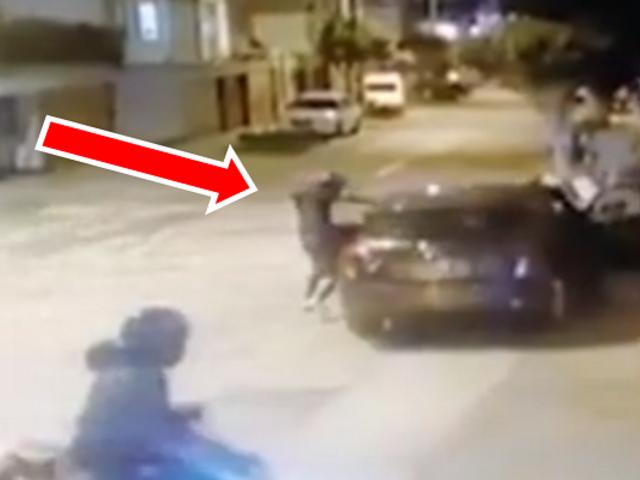 Surquillo: conductor logra escapar de ladrones armados