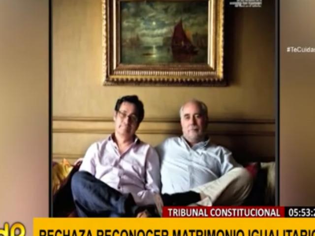 Óscar Ugarteche: irán a CIDH para que se reconozca unión civil de economista