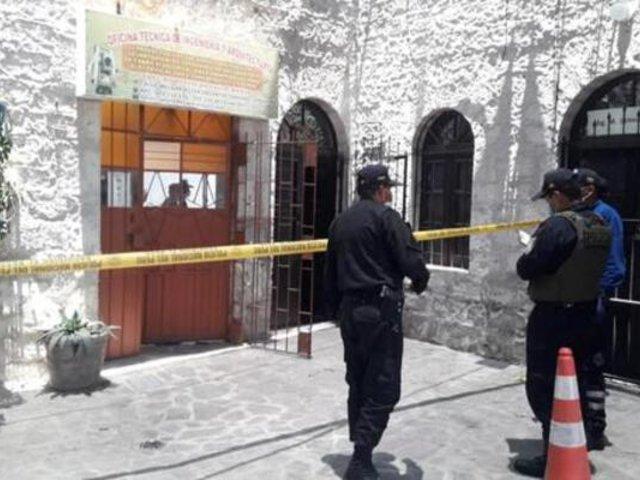 Anciano muere tras caer desde segundo piso de inmueble en Arequipa