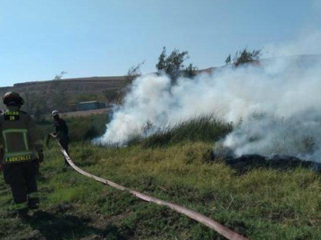 Amazonas: pasajeros resultaron heridos luego que chófer cruzara por incendio forestal