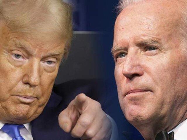 Trump habilitó transición presidencial con Joe Biden, pero sigue sin reconocer su derrota