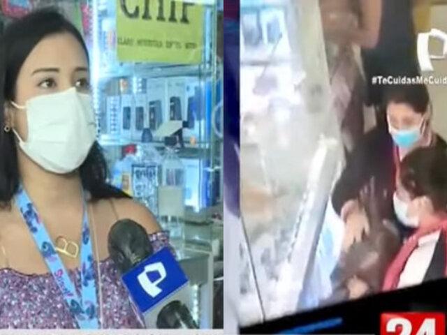 Habla la otra víctima de mujeres que estafan con dinero falso a vendedoras de celulares