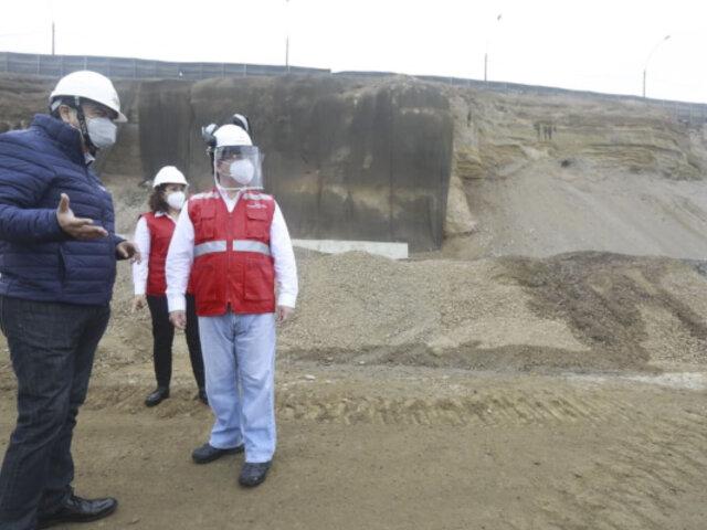 Contraloría de la República pide a Gobierno Regional reiniciar obras en Costa Verde Callao