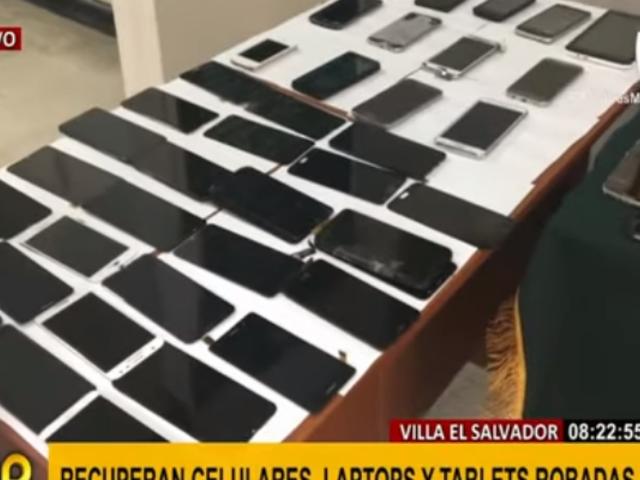VES: continúan megaoperativos contra venta de celulares robados