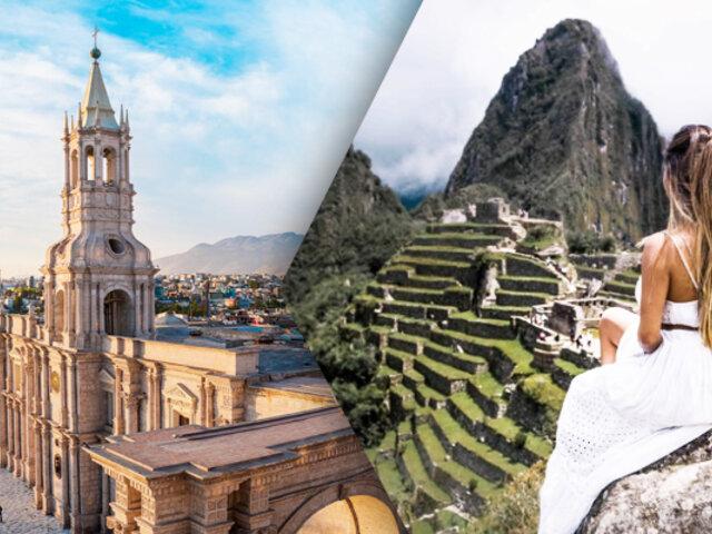 Cusco y Arequipa lideran preferencia de viajeros nacionales