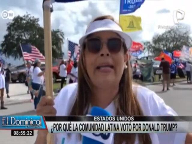 Estados Unidos: ¿Por qué la comunidad latina votó por Donald Trump?