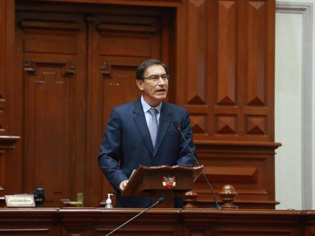 Martín Vizcarra evalúa postular al Congreso en las elecciones de 2021