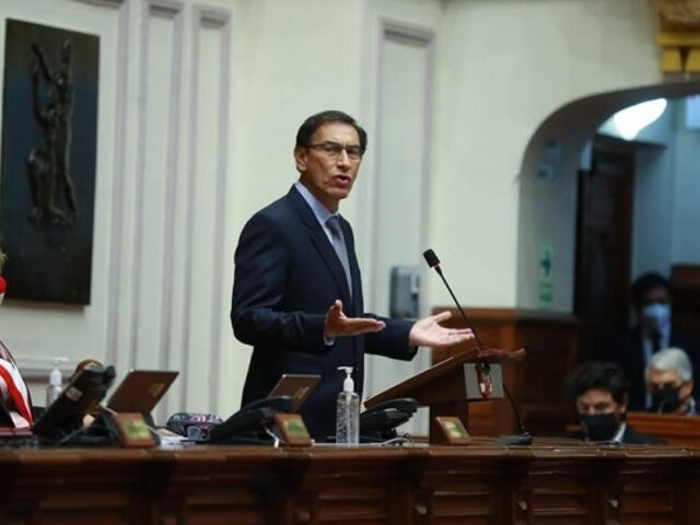 Martín Vizcarra: PJ dictó impedimento de salida del país por 18 meses