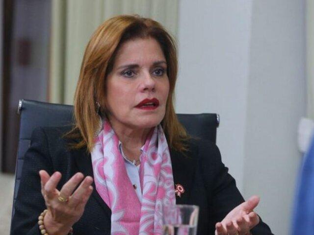 "Mercedes Aráoz: ""Vizcarra confabuló para que caiga el presidente Kuczynski"""