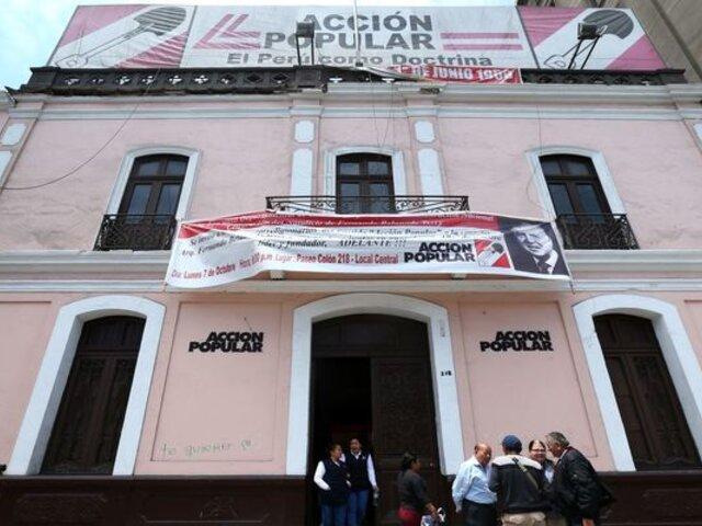 Acción Popular: opiniones divididas tras aprobación de vacancia contra Martín Vizcarra