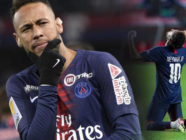 Neymar seguiría 5 años más en el PSG, según ESPN