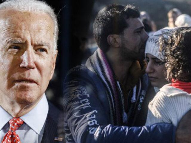 Biden planea reabrir Estados Unidos a los refugiados