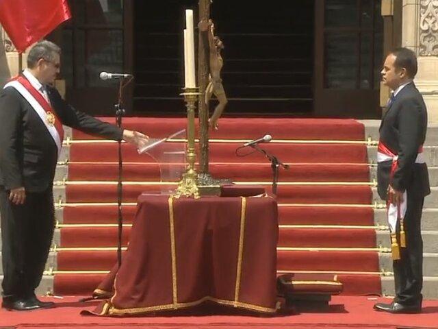 Manuel Merino tomó juramento al nuevo Gabinete Ministerial