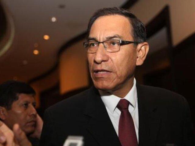 Elecciones 2020: Vizcarra anuncia su intención de postular al Congreso con Somos Perú