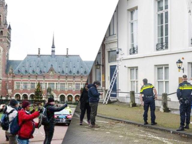 Atacan embajada de Arabia Saudita en La Haya