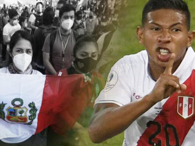 """Edison Flores: """"Miles de peruanos representan nuestro sentir en las calles"""""""
