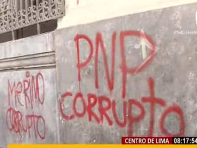 Plaza San Martín: este es el panorama tras violencia en cuarto día de protestas