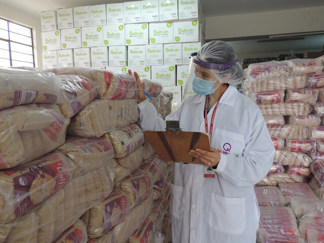 Qali Warma: más de 442 toneladas de alimentos fueron entregados a municipios