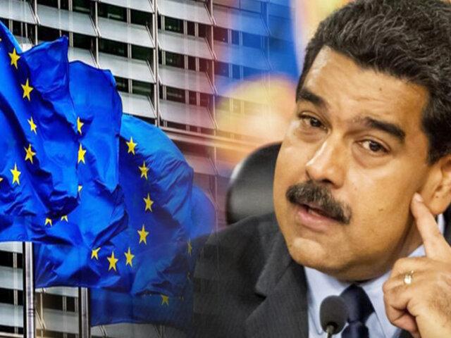 """Maduro califica como """"criminales"""" las sanciones de la UE para Venezuela"""