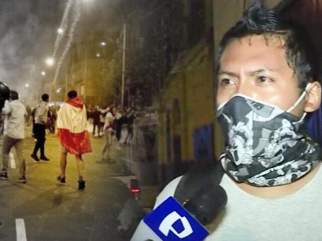 """Habla hermano de uno de los fallecidos: """"El principal responsable es Manuel Merino"""""""