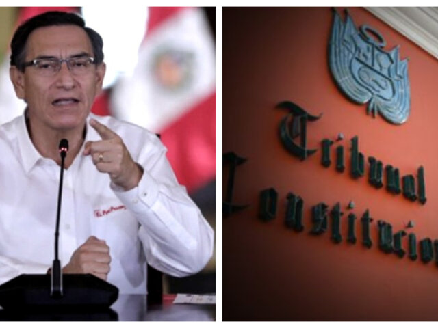 """Vizcarra sobre demanda competencial: """"Lamento que el TC haya actuado de espaldas al país"""""""