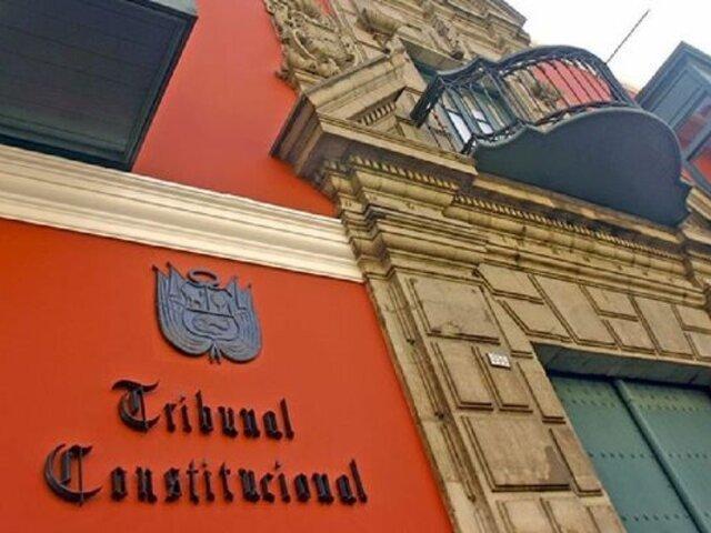 Congreso: aprueban continuar comisión para elegir a miembros del TC