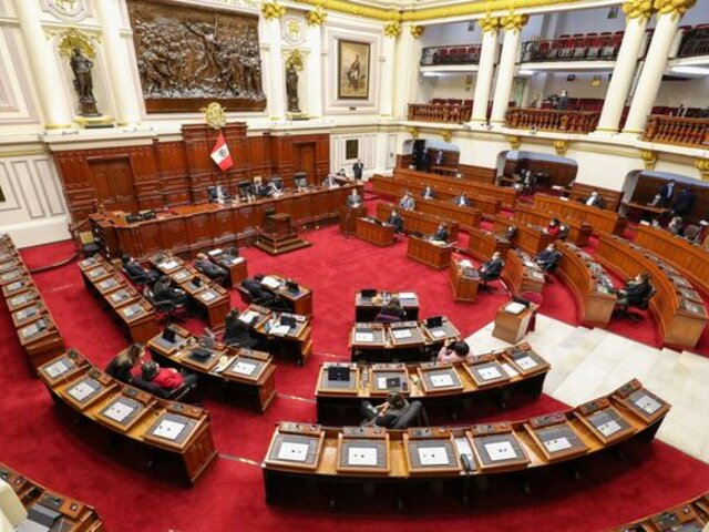 Comisión de Constitución inició el debate sobre el proyecto de restitución de la bicameralidad