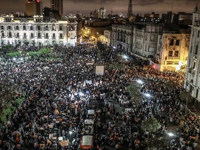 Covid-19 en Perú: manifestaciones podrían incrementar los contagios