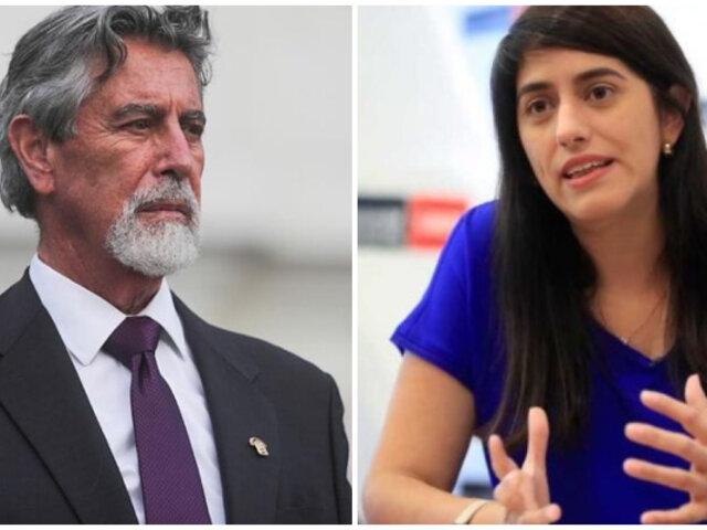 Sagasti le habría pedido a María Antonieta Alva que retorne al MEF, según Bloomberg