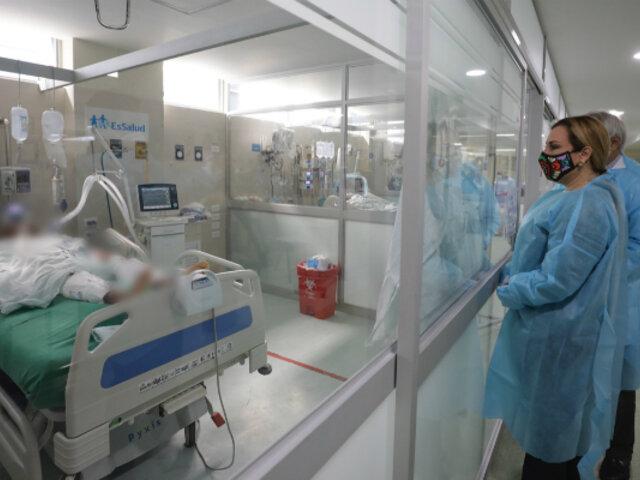 Molinelli: segunda ola de COVID-19 está generando mayor nivel de hospitalización