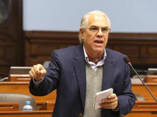 Gino Costa descarta formar parte del nuevo Gabinete Ministerial de Francisco Sagasti