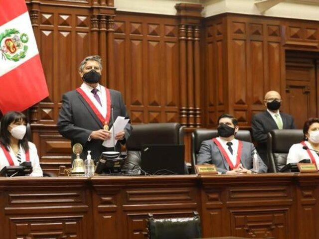 Beca Presidente de la República pasará a llamarse Generación del Bicentenario, anunció Sagasti