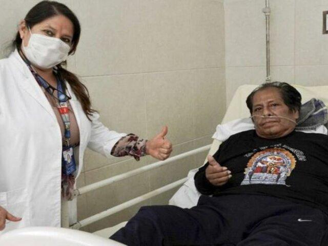 Los Mojarras: Cachuca fue dado de alta tras derrotar a la COVID-19